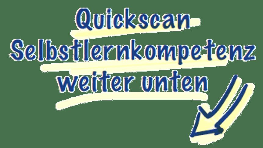 Hinweis Quickscan
