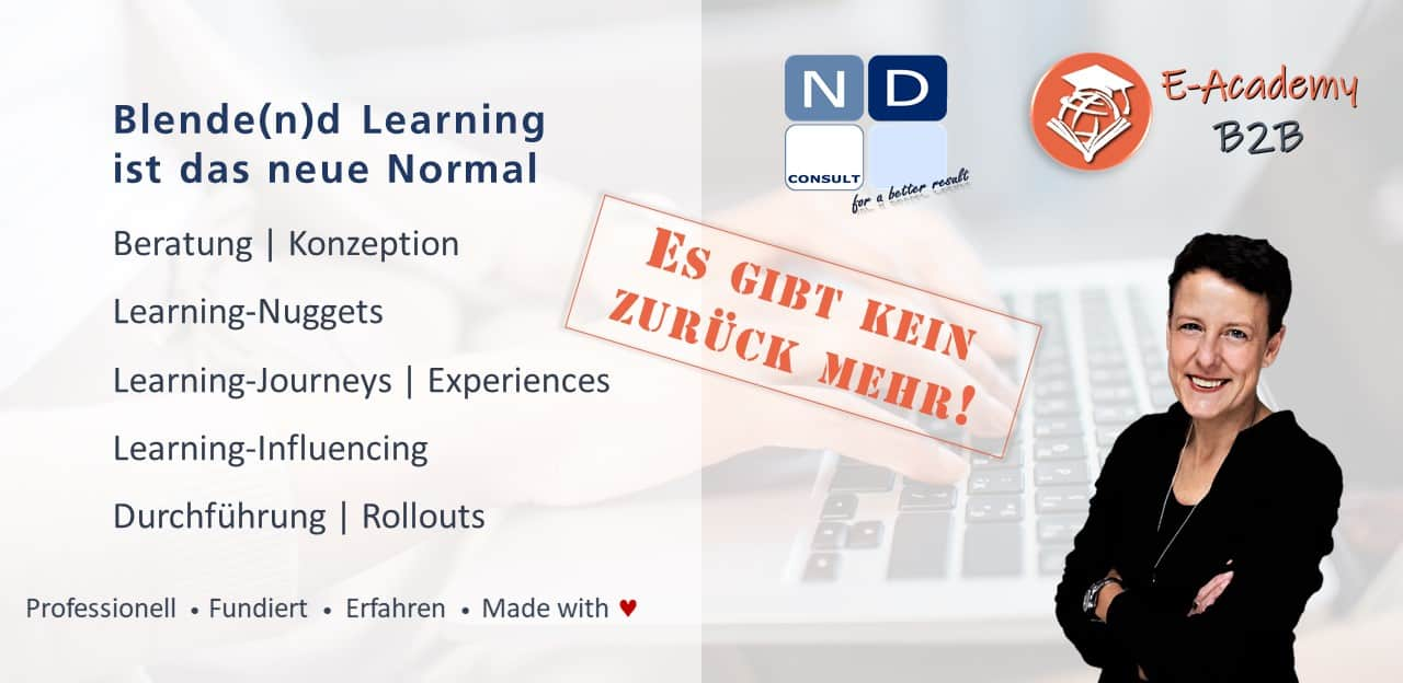 Blended Learning ist das neue Normal